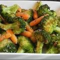 Simple Garlic Roasted Broccoli and Carrots - myfindsonline.com