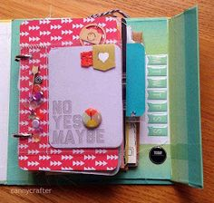 cannycrafter: How to turn a Project Life Kit into a Mini Album!