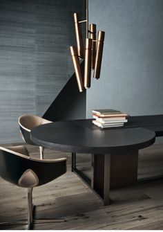 The Japanese Style With Contemporary Light Fixtures in the Mix! Best Interior, Modern Interior Design, Interior Architecture, Interior And Exterior, Design Moderne, Deco Design, Diy Inspiration, Interior Inspiration, Dining Room Furniture