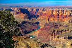 """Grand Canyon Sunset"" by Robert Bales.   http://fineartamerica.com/featured/grand-canyon-sunset-robert-bales.html"