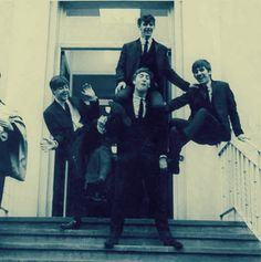 Silly Beatles, you are not cheerleaders