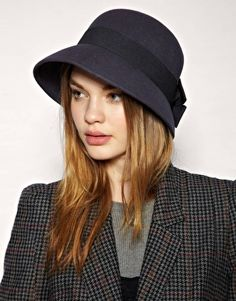 Catarzi Felt Bow Hat  #fashion #style #hat