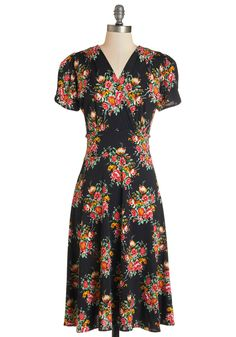 One Floral, All For One Dress in Dusk.