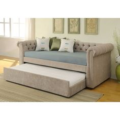 !nspire Daybed with Trundle & Reviews | Wayfair