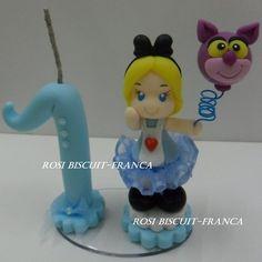 Vela personalizada Alice no país das maravilhas