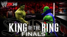I hope you guys enjoy this grand finale of the Marvel VS DC King Of The Ring Tournament! We start off with the rematch that you guys voted for. Wwe 2k14, 2k Games, Next Us, Martian Manhunter, Marvel Vs, Hulk, Finals, Videogames, Joker
