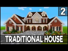 In part 1 for this minecraft tutorial on how to build a large suburban house, I will be showing you how to do the exterior walls for the first floor of the h. Modern Minecraft Houses, Minecraft House Plans, Minecraft Cottage, Minecraft House Tutorials, Minecraft Houses Blueprints, Minecraft Room, Minecraft House Designs, Minecraft Tutorial, Minecraft Architecture