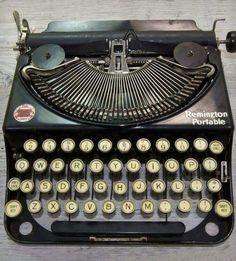 machine à écrire des années 40