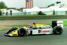 Nigel Mansell, Williams FW11B - Honda RA167-E 1.5 V6 (t/c - 4.0 bar limited) (Great Britain 1987)