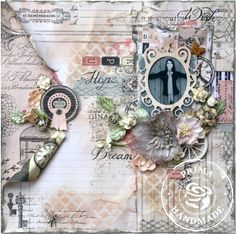 Prima Layout Wish, Hope, Dream - Scrapbook.com