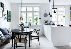Hippie Home Decor Scandinavian Home Interiors, Scandinavian Style Home, Kitchen Interior, Kitchen Decor, Interior Styling, Interior Design, Interior Paint, Gravity Home, Ideas Hogar