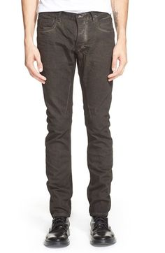Rick Owens DRKSHDW Detroit Fit Skinny Jeans (Dark Dust Grey) available at #Nordstrom