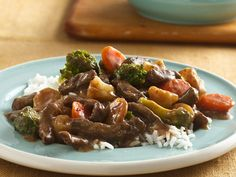 Slow Cooker Teriyaki Beef and Vegetables- Never mind, this is tonights dinner!:)