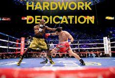 55 days to Mayweather-Pacquiao.    Hardwork Dedication