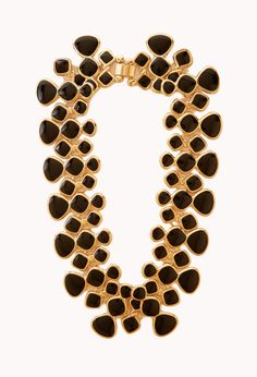 Lacquered Link Necklace | FOREVER21 Make a statement #Accessories #Necklace #WishPinWin #ForeverHoliday