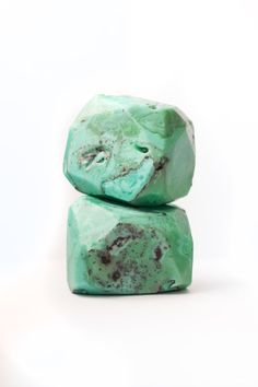 Natural Turquoise  Soap Rock With Natural by LotusFlowerSoap