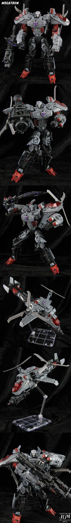 Generation Animation Megatron Figure by Jin-Saotome