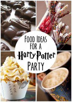 Essensvorschläge für eine Harry Potter Party