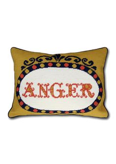 Jonathan Adler #cushion #cross-stitch
