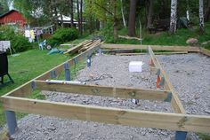 Bygga soldäck Deck Stairs, Back Deck, Deck Design, Garden Bridge, Home Projects, Swimming Pools, Outdoors, Outdoor Structures, Landscape