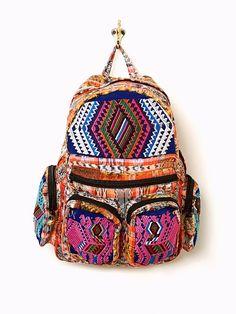 bohemian backpack Free People boho style