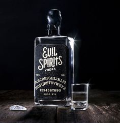 """""""Evil Spirits is a new premium spirits line that is painstakingly crafted to be sinfully enjoyed."""""""