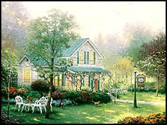 Thomas Kinkade Inspiration Art Gallery - Memphis Tennessee - Sold Out Limited Edition Paintings