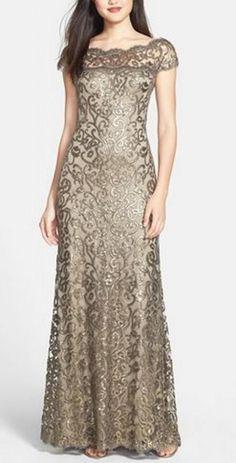 Gorgeous golden dress
