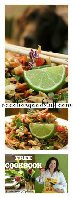 Chopped Asian Salad - Crunchy and Delicious! http://ceceliasgoodstuff.com/spicy-peanut-asian-slaw