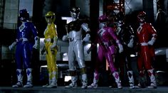 mighty morphin power rangers the movie costumes - #josephporrodesigns