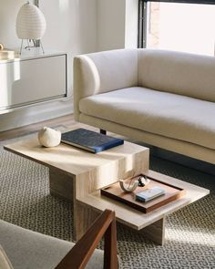 Our Lola rug in Alice Gao's renovated flat. Table Design, Decor, Cool Coffee Tables, Furniture Decor, Furniture, Japanese Coffee Table, Minimal Coffee Table, Plywood Coffee Table, Coffee Table