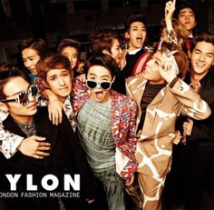TEEN TOP and 100% throw a Christmas party for 'Nylon' | allkpop.com