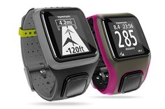 TomTom Runner and Multi-Sport Watches. Would be awesome for our day-long hikes this summer!