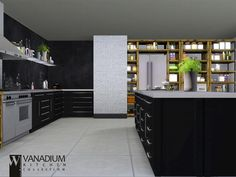 Vanadium Kitchen by wondymoon - Free Sims 3 Furniture Downloads The Sims Resource - TSR Custom Content Caboodle - Best Sims3 Updates and Finds
