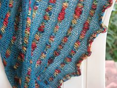 Ravelry: Through Thick & Thin Friendship Shawl pattern by Kay Meadors