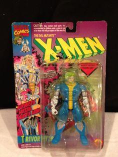 VINTAGE 1993 Marvel Evil Mutant X-Men TREVOR FITZROY- BATTLE action Figure NIP  #MarvelToys