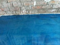 Blue Fusible Floor