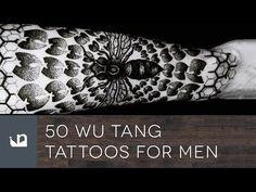 Wu Tang Clan Disciples: 50 Wu Tang Tattoos