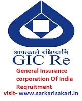 General Insurance Corporation Of India Reqruitment Corporate