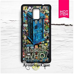 Doctor Who Samsung Galaxy Note 4 Case