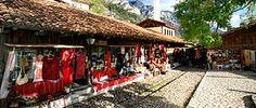 Alley of the old market (Krujë - Wikipedia)