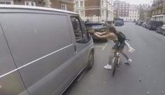 Female Cyclist, Road Rage, Gopro Camera, Cyclists, Revenge, Van, Gopro Kamera, Vans, Vans Outfit