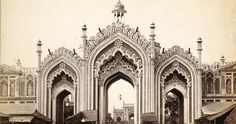 """""""The 60 feet high Rumi Gate was constructed during the reign of Nawab Asaf-ud-Daula in 1784-86.""""The Rumi Darwaza of Lucknow is one of the most impressive architectural structures in India. It was constructed in the year 1784 by Nawab Asaf-ud-daula."""