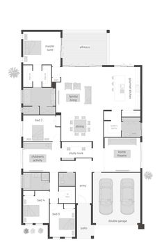 Kids Bedroom Plan live big with the lyndhurst floor planmcdonald jones