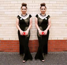Polynesian Design dress - E'vana Couture Design Samoan Dress, Island Wear, Fashion Show, Women's Fashion, Polynesian Designs, Different Dresses, Armors, Dress Patterns, Pretty Dresses