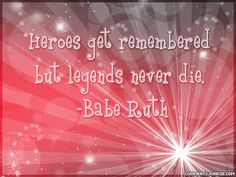 photo of quotes by babe ruth - Yahoo! Search Results