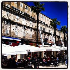 The 1700 year old Diocletian's Palace #split #croatia #europe #travel #unesco - @shinyshoestring- #webstagram