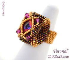 Tutorial Salinas Ring - Beading Tutorial PDF