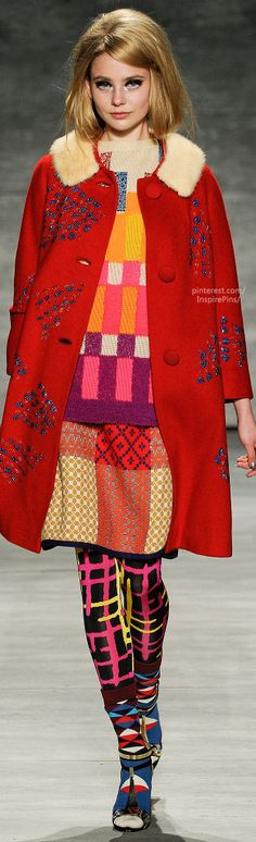 Fall 2014 Ready-to-Wear Libertine  WOW this is the only place I could think to put this....wellllll.....fashion ....ah huh statement