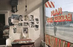Fred Herzog. Main Barber